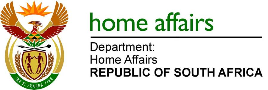 South african home affairs logo
