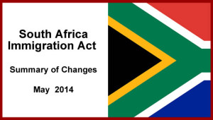 South Africa's New Immigration Act Summary