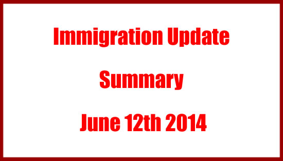 South African Immigration Summary Update