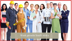 Work Permit applications South Africa