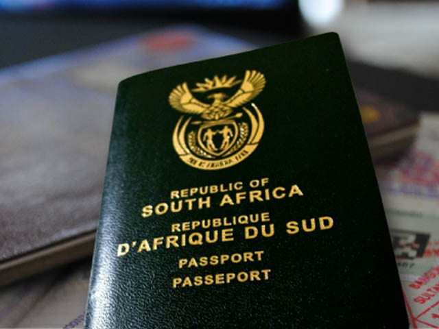 How To Get A South African Passport