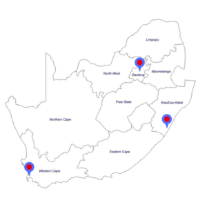 top 3 south african cities