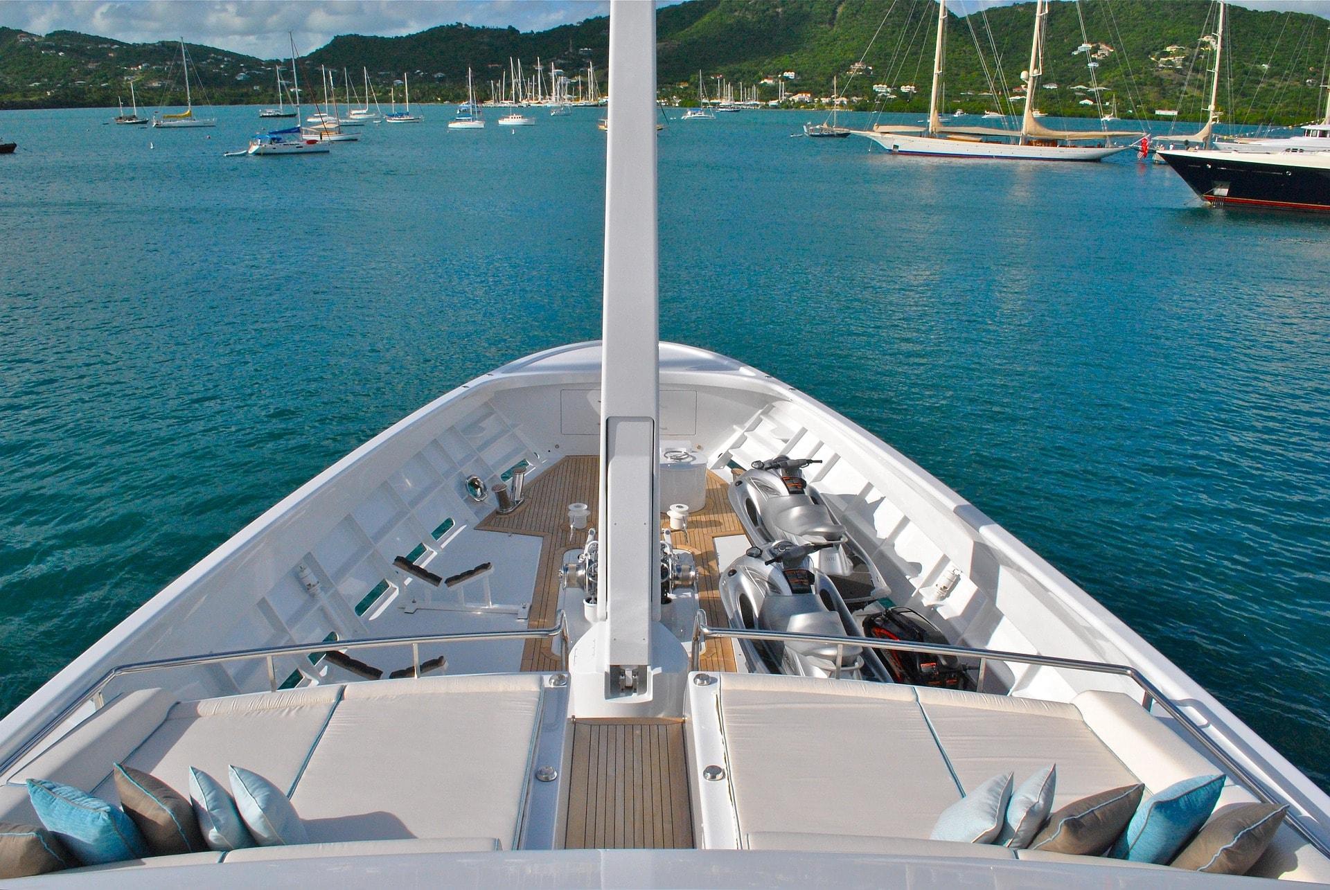 Antigua yacht